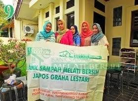 Bank Sampah Melati Bersih Japos Graha Lestari