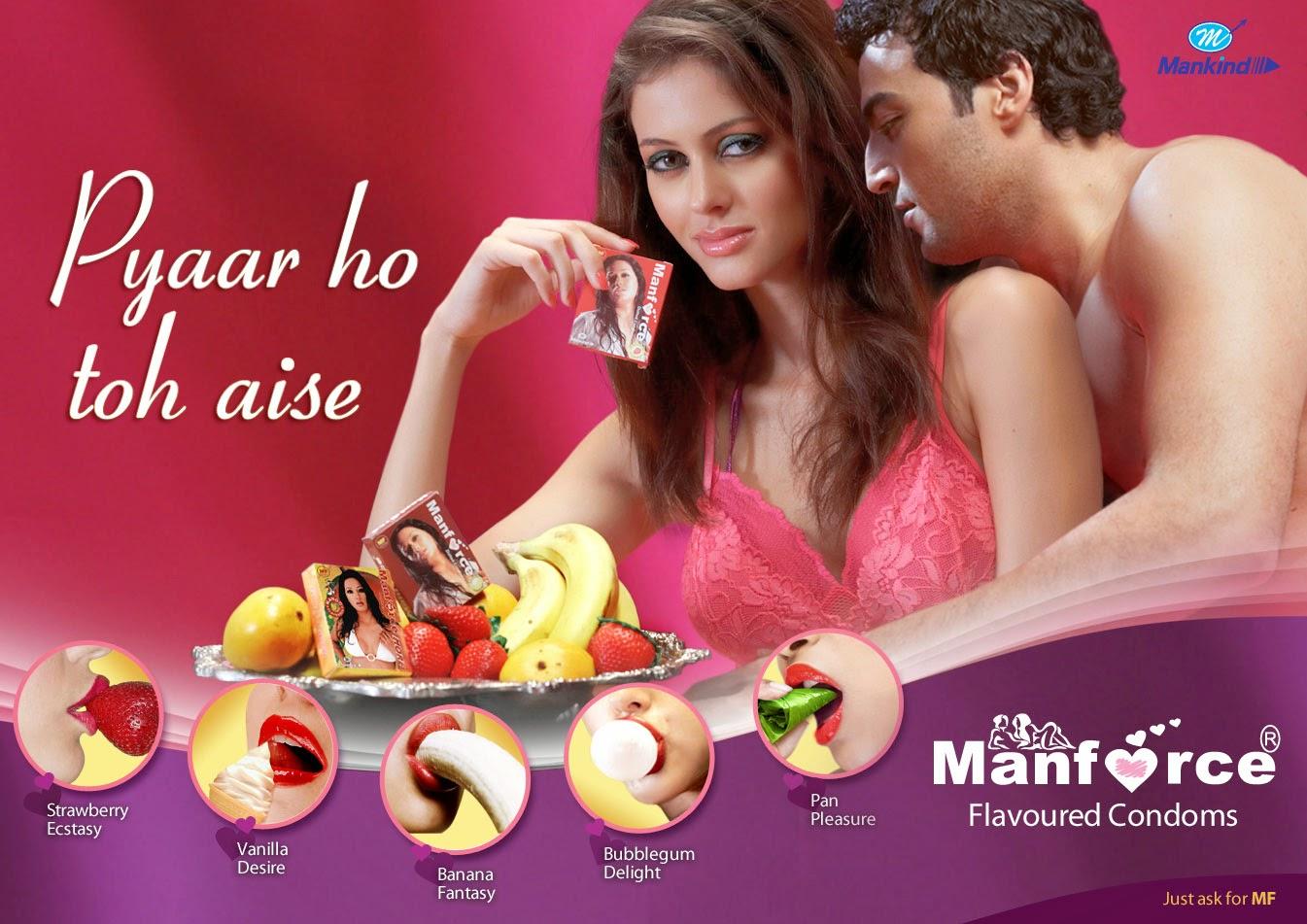 Manforce female condom