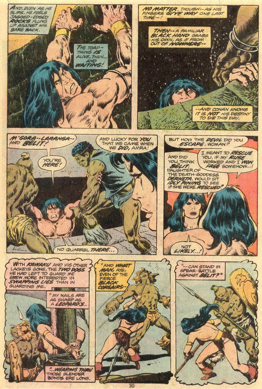 Conan the Barbarian (1970) Issue #73 #85 - English 17