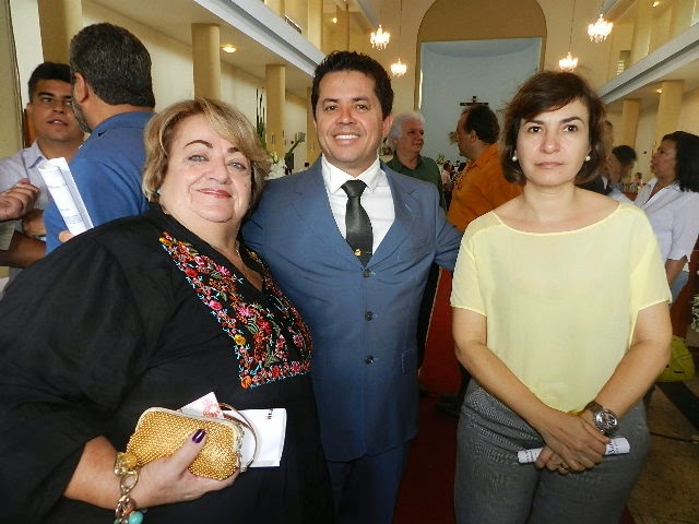 MARIA ALICE PRESIDENTE DO DEMOCRATAS PARABENIZA ITABUNA PELOS SEUS 105 ANOS DE EMANCIPAÇÃO POLÍTICA