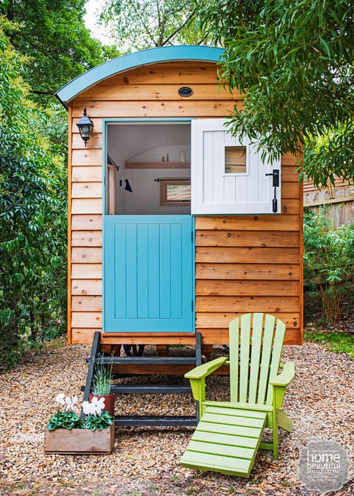 Vicky's Home: Una cabaña con ruedas / A cottage on wheels