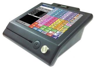 mesin komputer kasir touchscreen layar sentuh