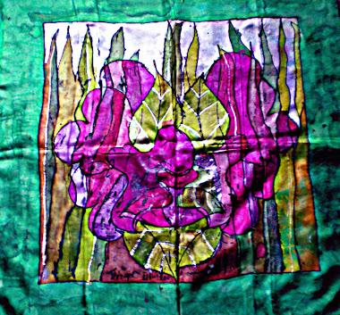 """Greenman (29"""" X 29"""")04/09/2010"""