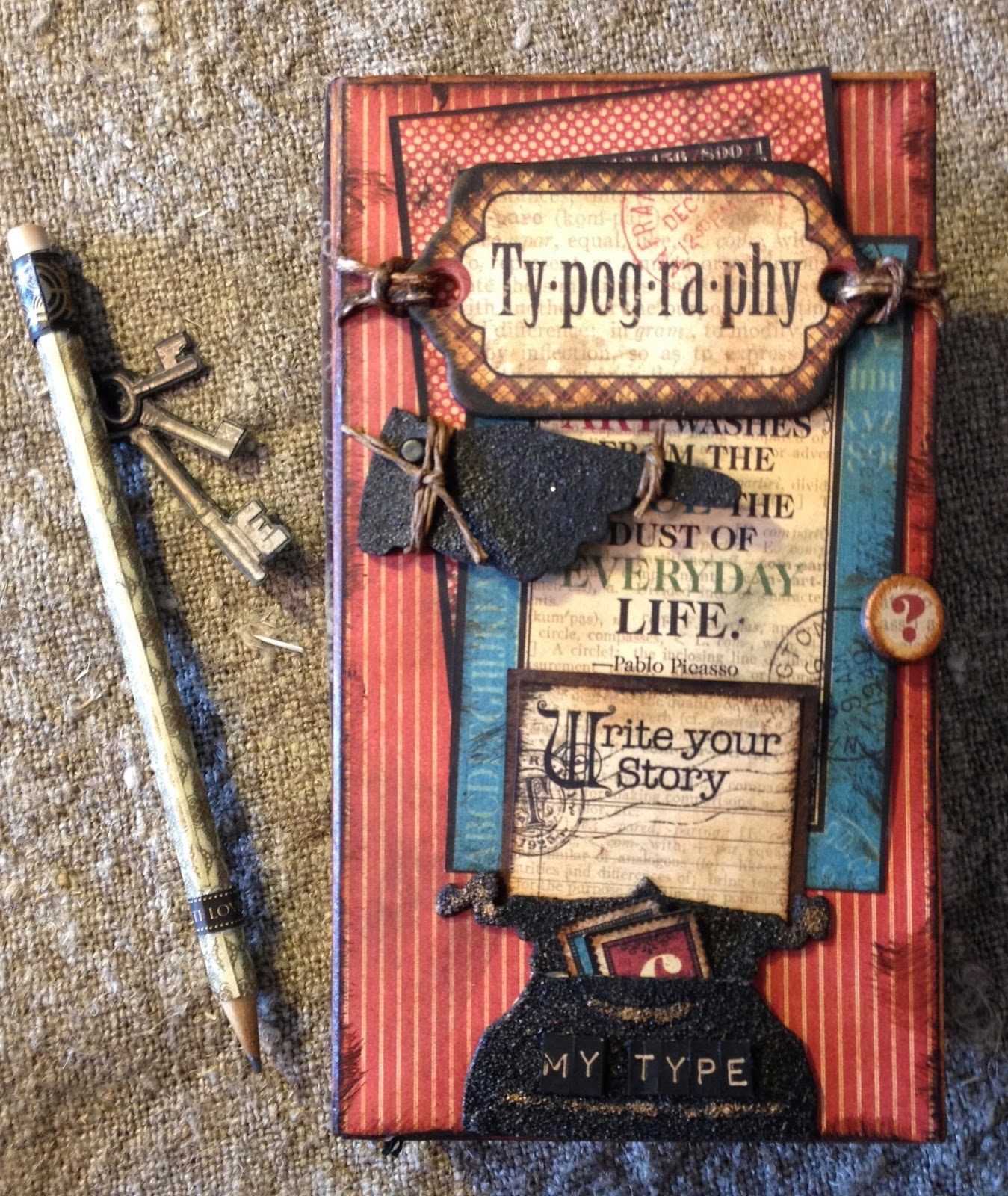 How to make scrapbook journal - An Error Occurred