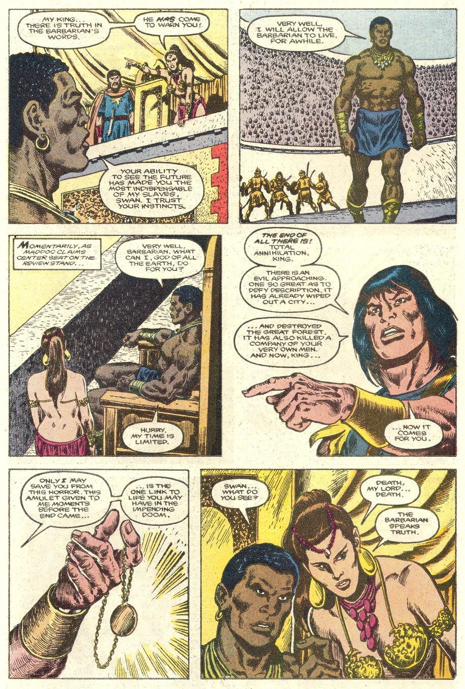Conan the Barbarian (1970) Issue #181 #193 - English 10