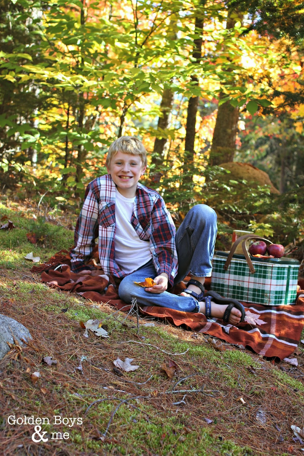 Autumn picnic in the Adirondacks-www.goldenboysandme.com