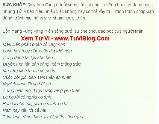 Tuoi Mau Dan Nam Mang 1998