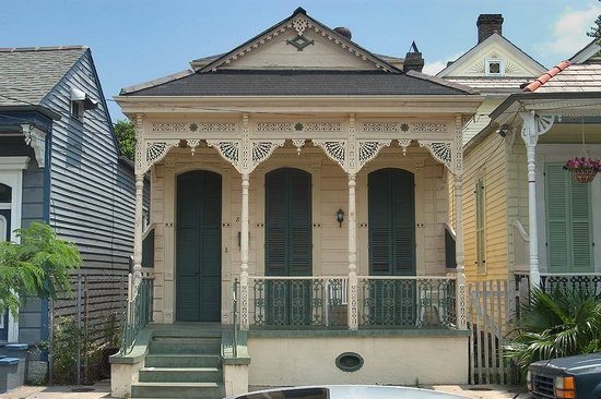 Design caller selected spaces from iron railings to for New orleans shotgun house plans