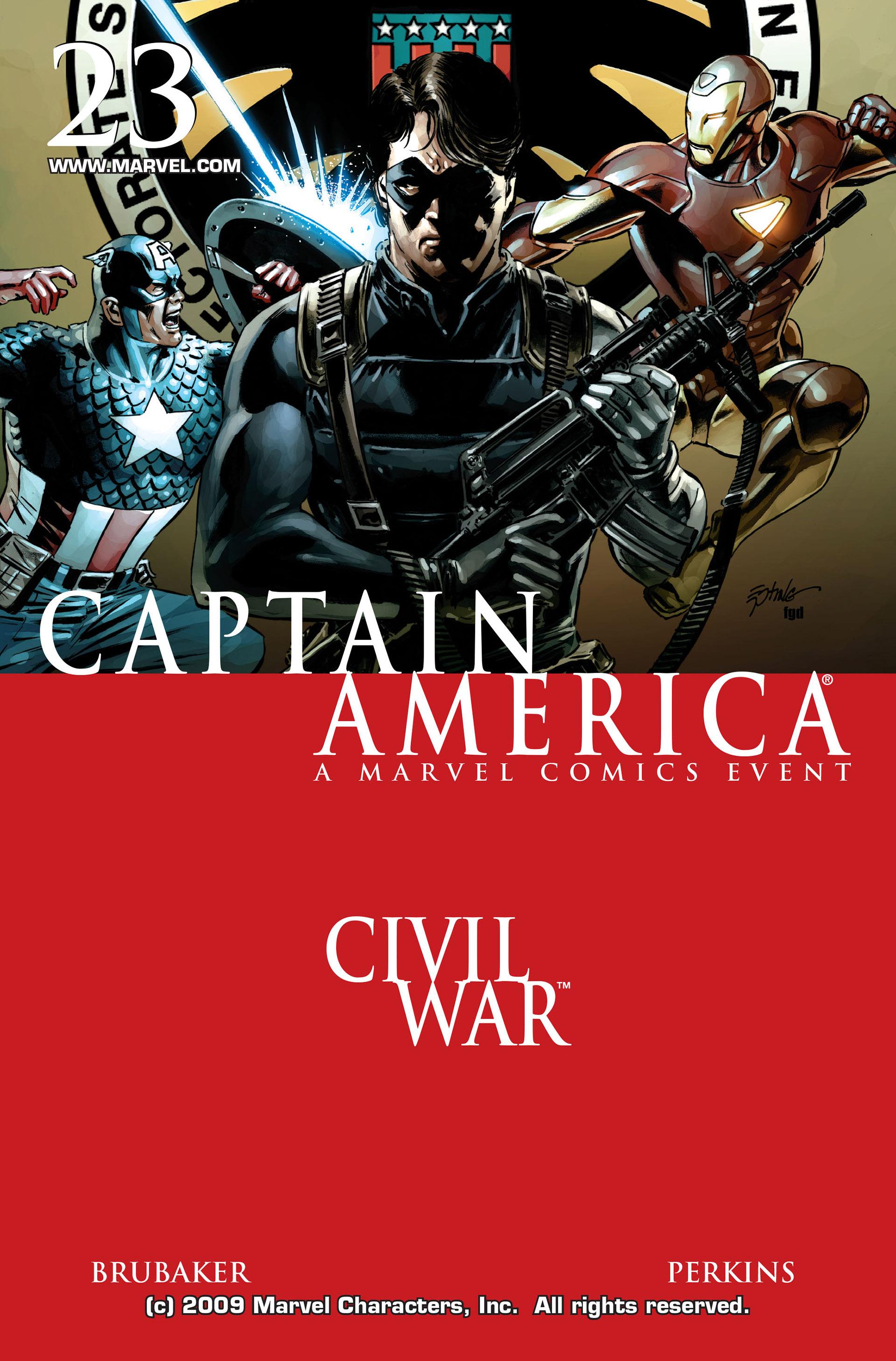 Captain America (2005) Issue #23 #23 - English 1