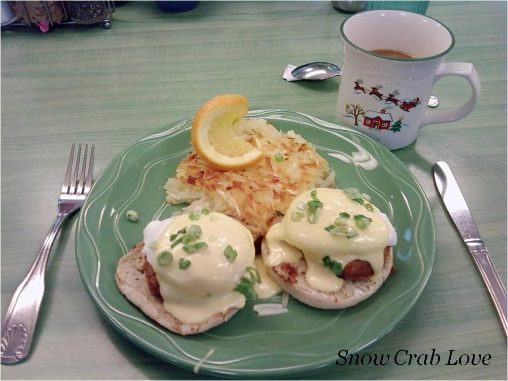 Giant King Crabs King Crab Cakes Eggs Benedict