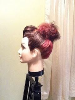 up do bun hair style