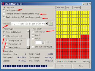 Tampilan Fitur Aplikasi Check Flash