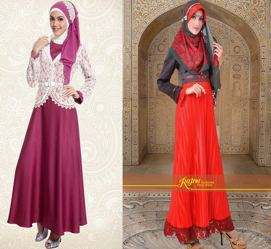 Model Cantik Baju Pesta Muslim Terbaru 2017 Trend Model Dan Gaya