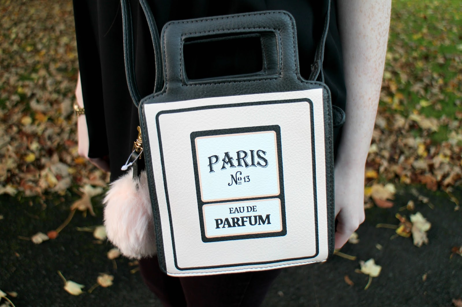 Perfume Bottle Shaped Bag