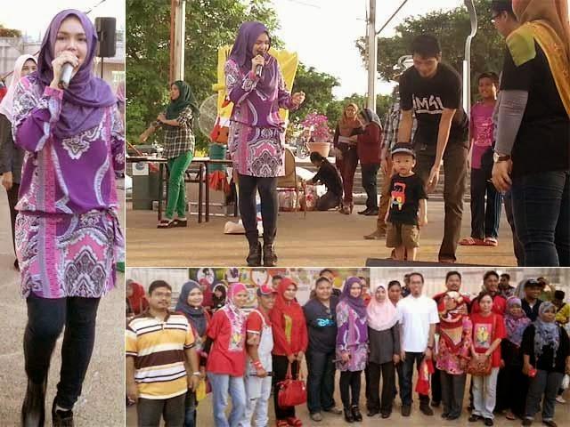 Dato' Siti Nurhaliza Meriahkan Santai@dataran Gemilang