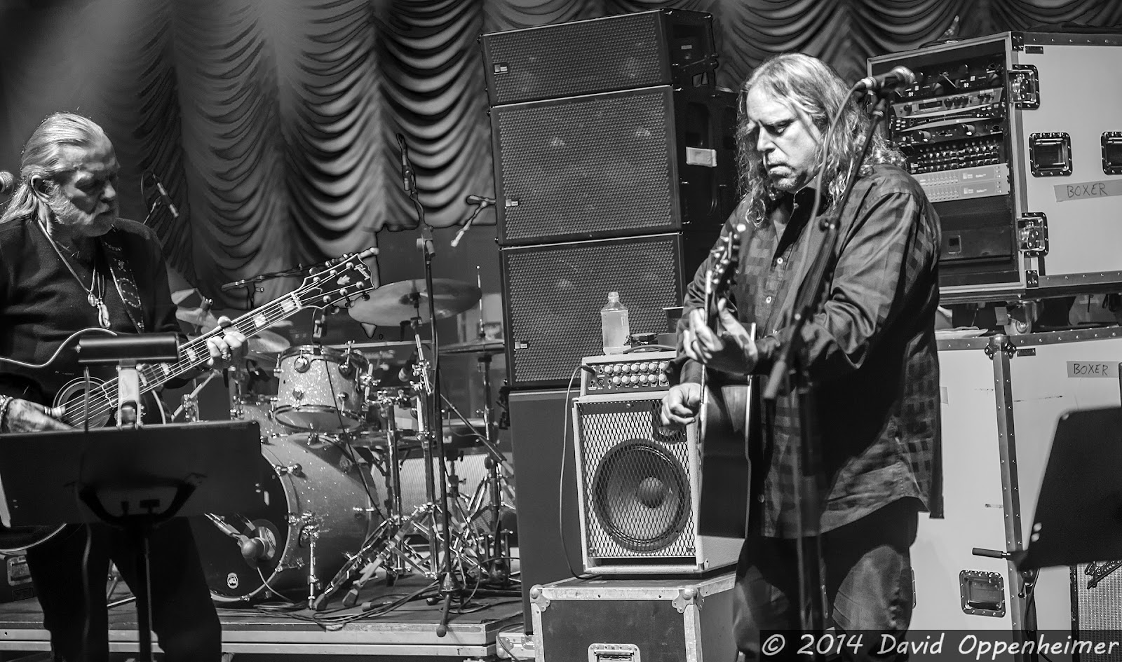 Gregg Allman and Warren Haynes