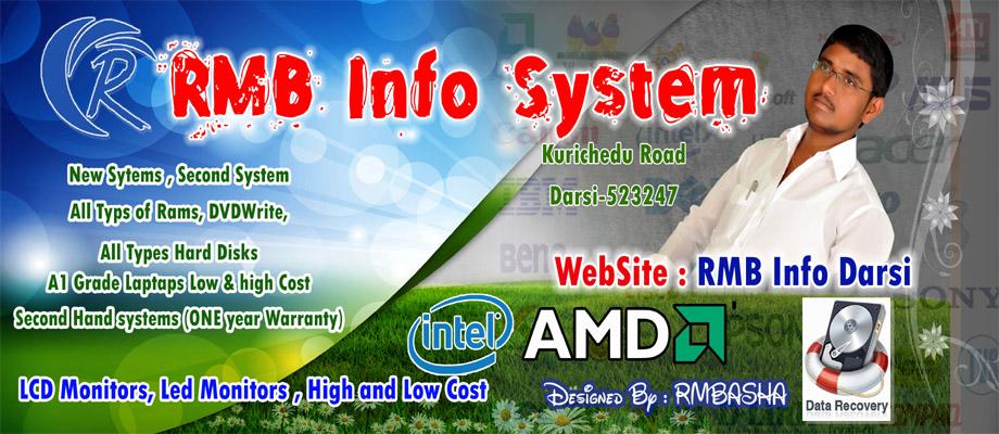 R M BASHA - RMB INFO SYSTEM