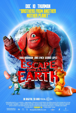 Escape from Planet Earth 2013 poster