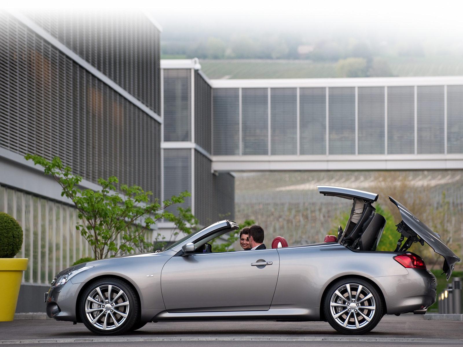 Infiniti Q60, G37, luksusowe auta ze składanym dachem, japońskie samochody, zdjęcia, galeria, ciekawe samochody