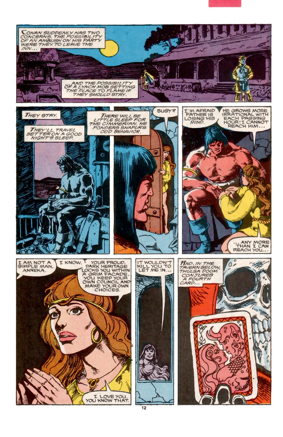 Conan the Barbarian (1970) Issue #202 #214 - English 13