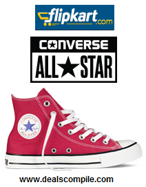 Flipkart Deals of the Day - 50% off on Converse Shoes