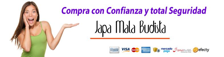 JapaMalaBudista Formas de pago