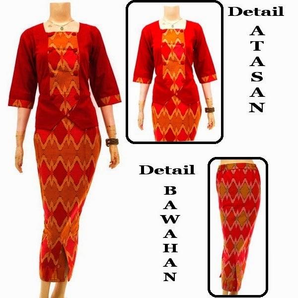 Dress Baju Batik Abaya Gamis Muslim Toko Online Busana