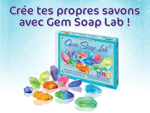 20 coffret Sentosphère Gem Soap Lab