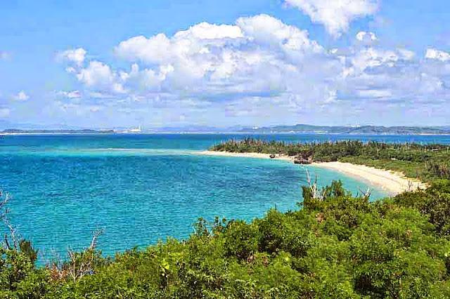 ocean view, Okinawa island, Kin Power Plant