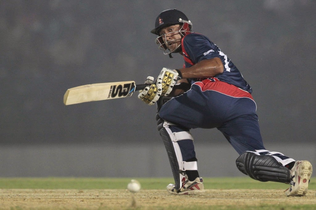 paras khadka, paras nepali cricket player, paras khadka national team captain cricket,