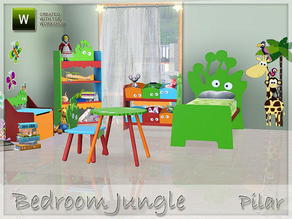 Sims 3 m addict sims 3 chambre pour enfant fille ou gar on gratuit room for child girl - Telecharger meubles sims 3 ...