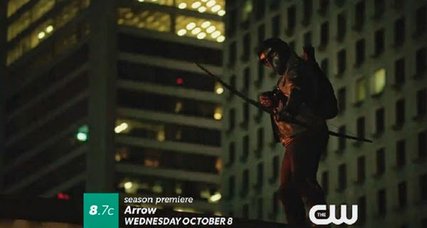Matt Ward es Komodo en Arrow T3
