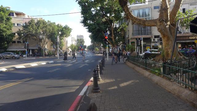 תל אביב - רחוב המלך ג'ורג' - יוני 2015