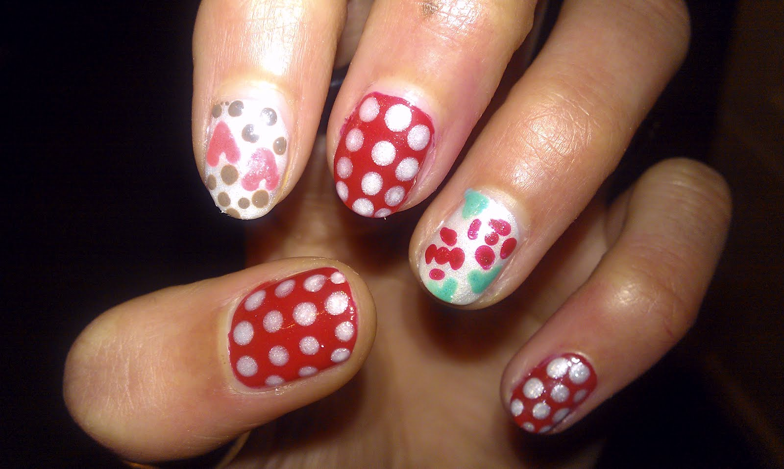 day nail designs idea 2016 how to decorate nails with hearts
