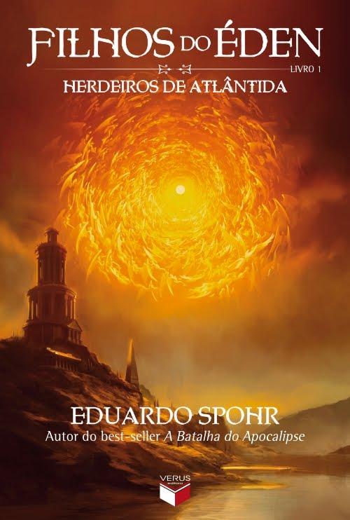 Capa de Herdeiros de Atlântida