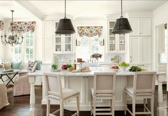 Bucătărie Albă Amenajată 238 N Stil American Jurnal De Design