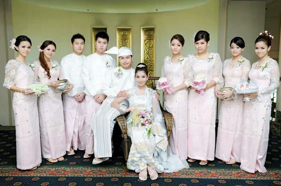 Wedding Ceremony In Myanmar