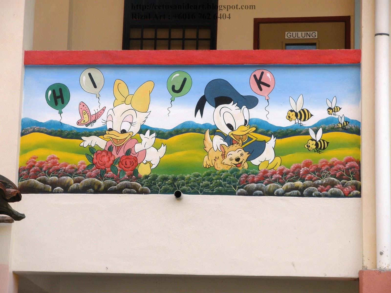 Mural art cetusan idea sample image mural prasekolah for Contoh lukisan mural tadika