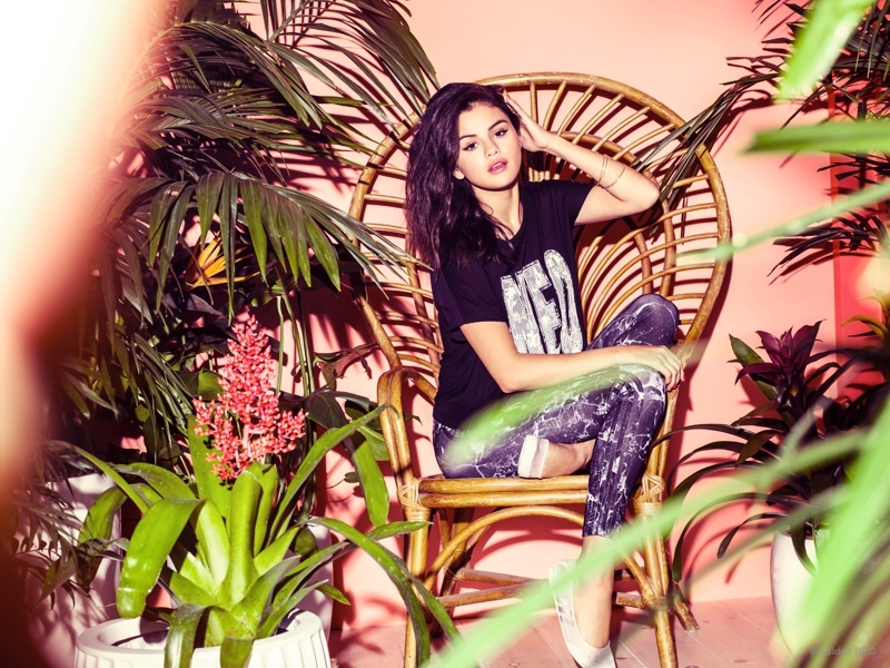 Selena Gomez is casual chic for the Adidas Neo Summer 2015 Campaign