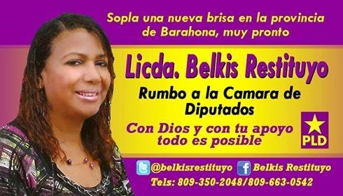 EL PODER FEMENINO BELKIS DIPUTADA