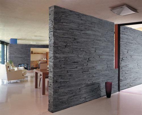 Decoraci n de interiores con piedra ideas para decorar for Materiales para decorar paredes interiores