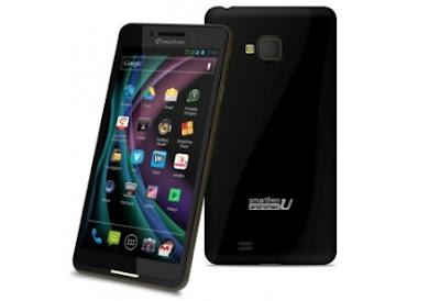 """Smartfren Andromax U Smartphone dengan layar 4,5"""" dilengkapi Prosesor Dual Core 1,2 Ghz Dual On EV-DO dan GSM Kamera 8MP"""