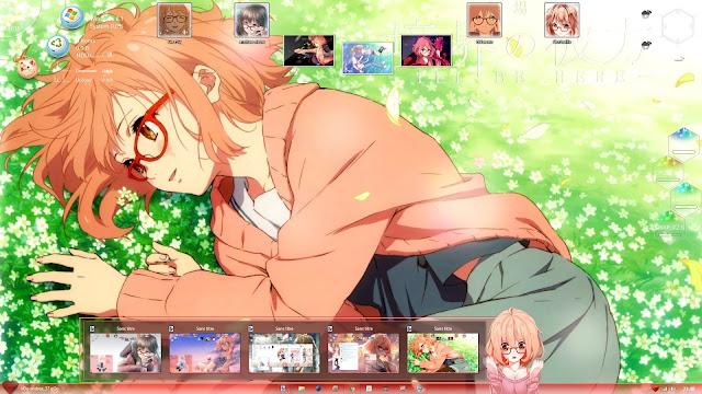 Kyoukai No Kanata Win 8.1 Theme