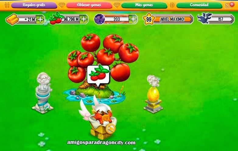 imagen del resultado de la isla magica de deus de dragon city