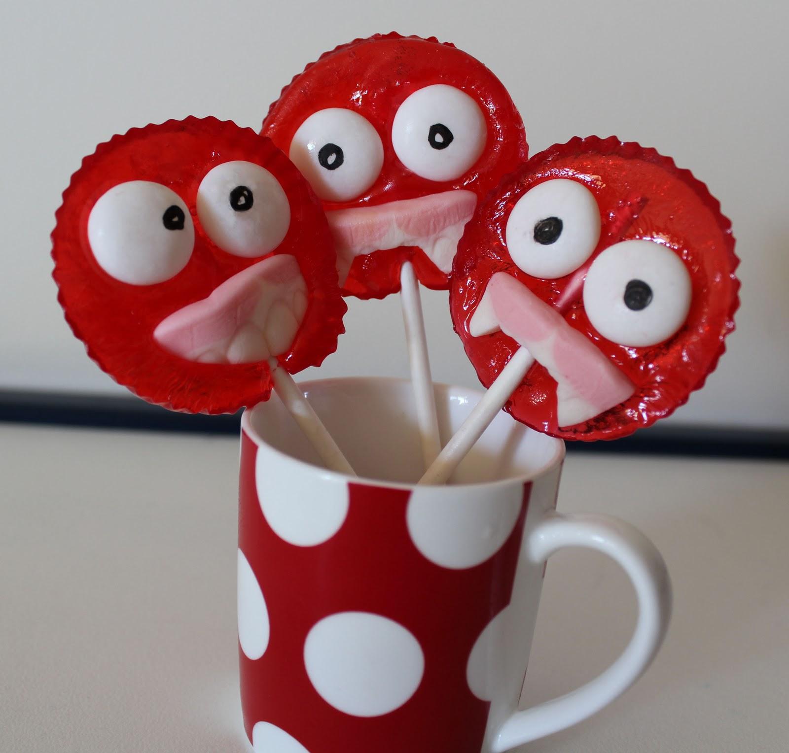 maker*land: How to make funny face lollipops