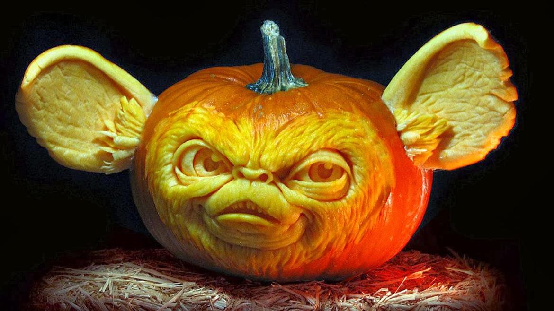 Las mejores calabazas para halloween construccion y - Plantillas para decorar calabazas halloween ...
