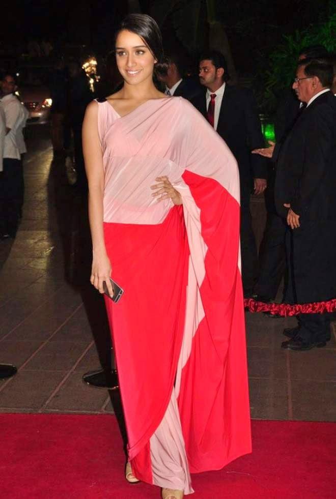 shraddha kapoor at arpita khan wedding reception hd photo
