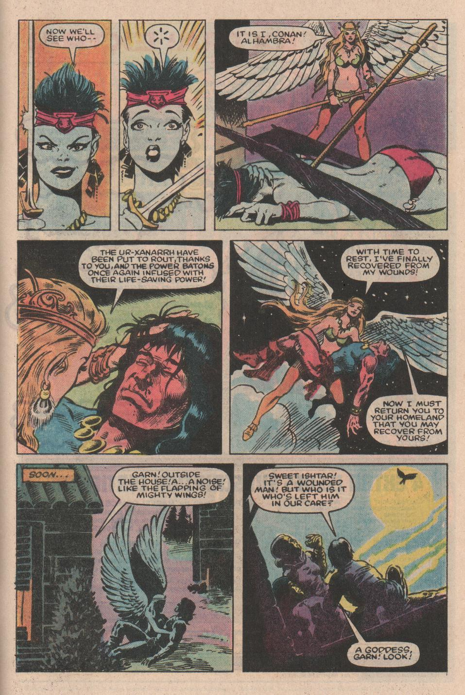 Conan the Barbarian (1970) Issue #154 #166 - English 25