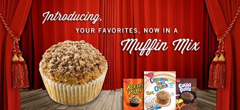 Betty Crocker cereal muffins