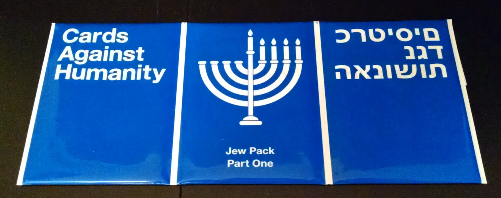 Cards Against Humanity Eight Sensible Gifts For Hanukkah